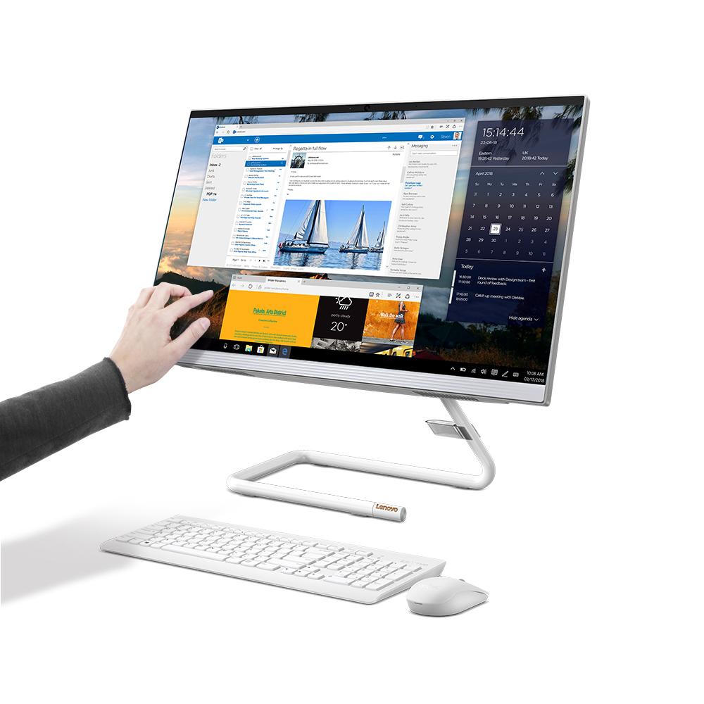 레노버 ideaCentre 일체형 PC AIO3-27 (i3-10100T 68.5cm), ideaCentre AIO3-27, WIN10 Home, RAM 8GB, NVMe 256GB