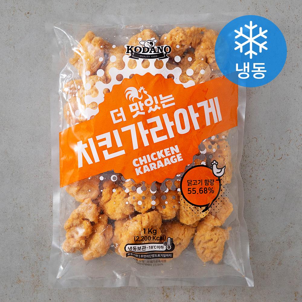 코다노 더 맛있는 치킨가라아게 (냉동), 1kg, 1개