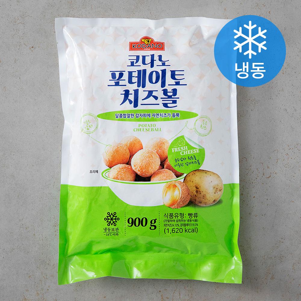 코다노 포테이토 치즈볼 (냉동), 900g, 1개