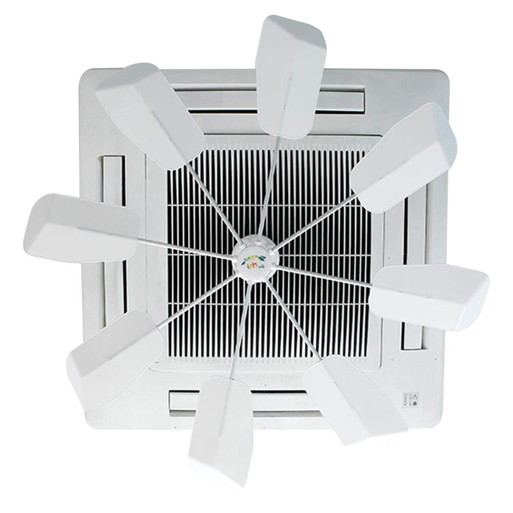 더나라 바람돌이 천장형 에어컨 날개, 단일상품(화이트), 1개 (POP 4824844115)