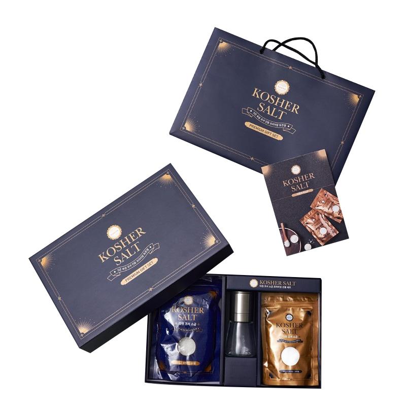 [프리미엄 선물세트] dawon 코셔 소금 프리미엄 선물세트 + 쇼핑백, 1세트 - 랭킹3위 (39150원)