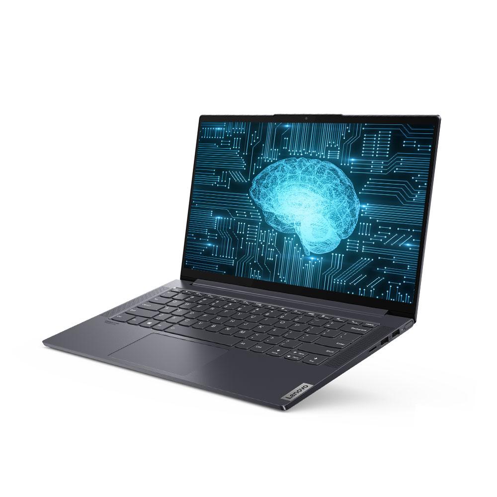 레노버 YOGA Slim7 슬레이트 그레이 노트북 14ITL (i7-1165G7 35.6cm NVMe 512GB WIN10 Home), 윈도우 포함, 16GB