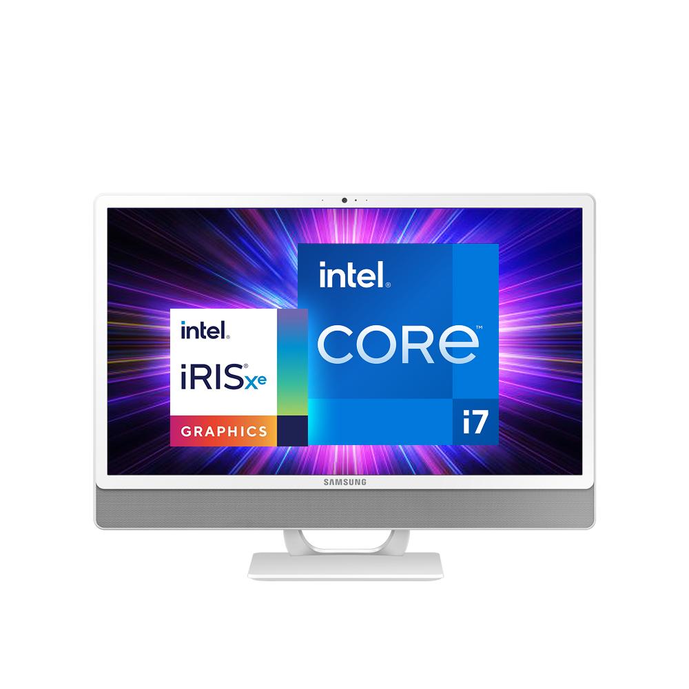 삼성전자 일체형 PC DM530ADA-L78AW (11세대 인텔 i7-1165G7 60.5cm), WIN10, RAM 8GB + 8GB, SSD 512GB + HDD 1TB