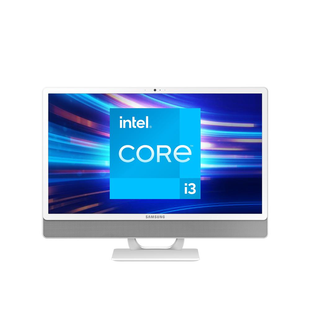 삼성전자 올인원 PC DM530ADA-L38AW (11세대 인텔 i3-1115G4 60.5cm), WIN10, RAM 8GB + 8GB, SSD 256GB