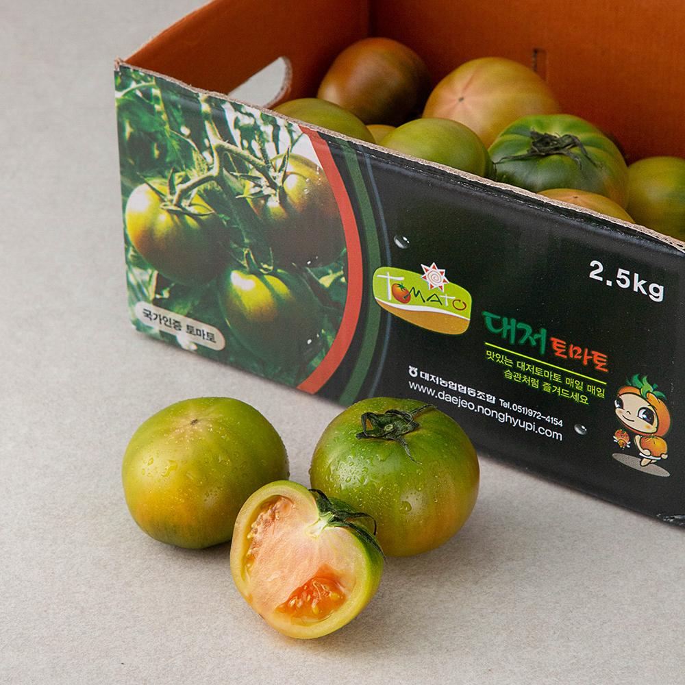 GAP 인증 대저토마토, 2.5kg, 1개