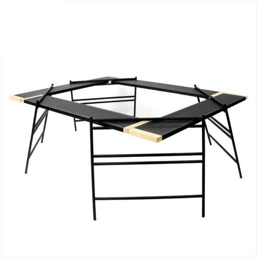 카페클럽 야외 다목적 바베큐 보조 테이블, 혼합색상-15-5354305188