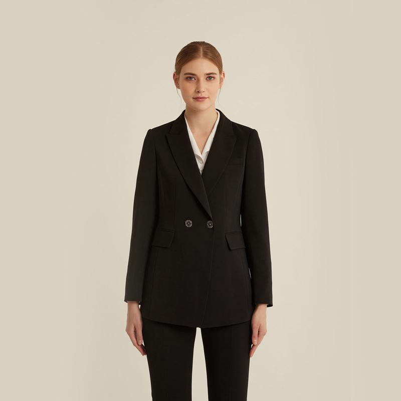 올리비아로렌 여성용 세미 더블 수트 자켓 VOPGAXS2121