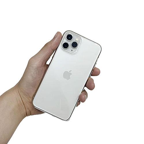 생활가이드 변색 없는 아이폰 투명 휴대폰 케이스 슬림 하드