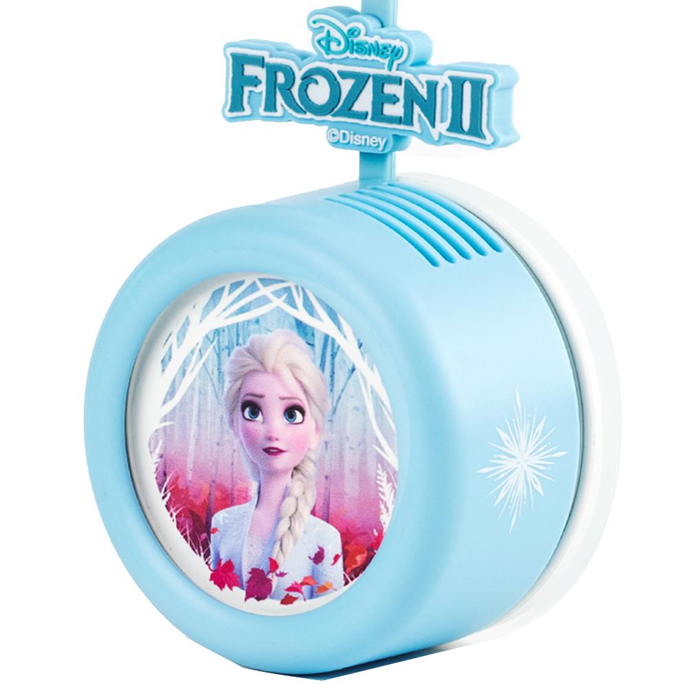 로이체 디즈니 휴대용 날개없는 안전한 목걸이 선풍기 겨울왕국, DSNY-RNF-A-ES, 엘사