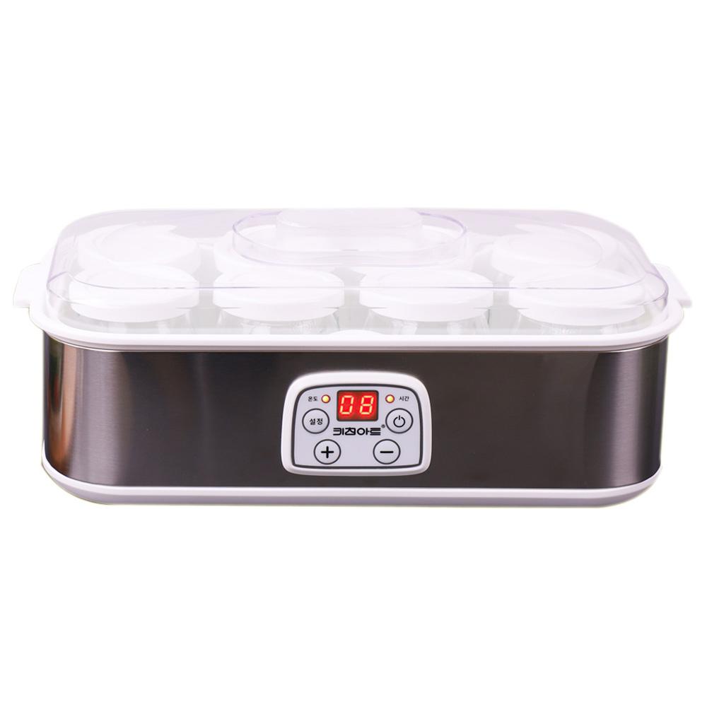 키친아트 라팔 요거쉐프 8구 디지털 요거트 제조기, KY-D3081OY