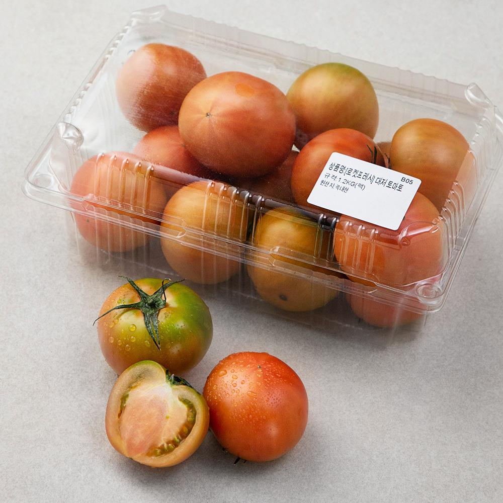 대저 토마토, 1.2kg, 1팩