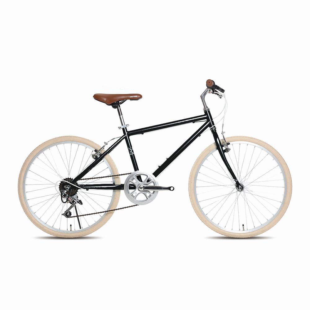 지오닉스 2021년형 메이미 24 자전거 380mm, 블랙 + 그레이