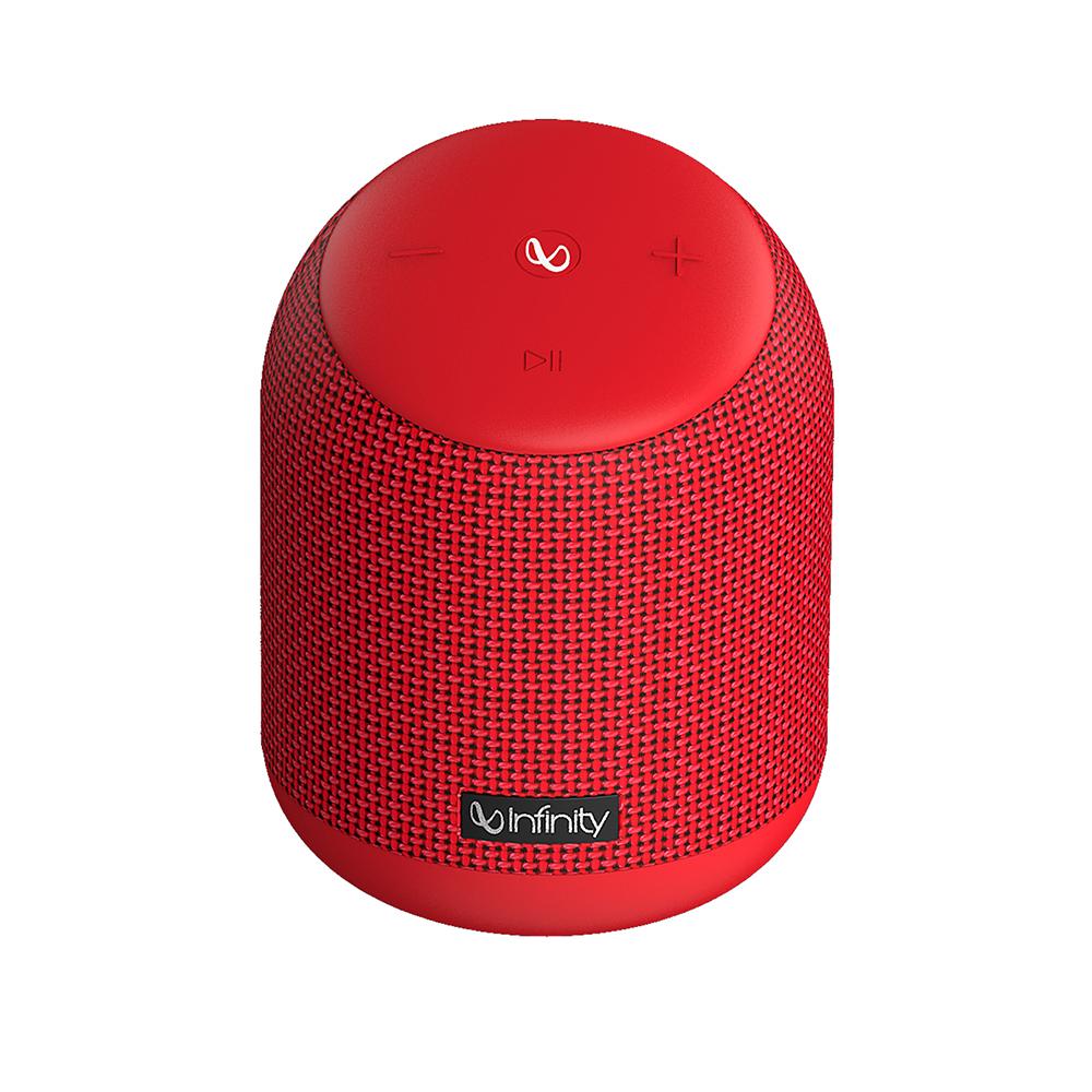 인피니티 클럽즈 250 음성비서 휴대용 블루투스 스피커 15W INFCLZ250RED, 레드
