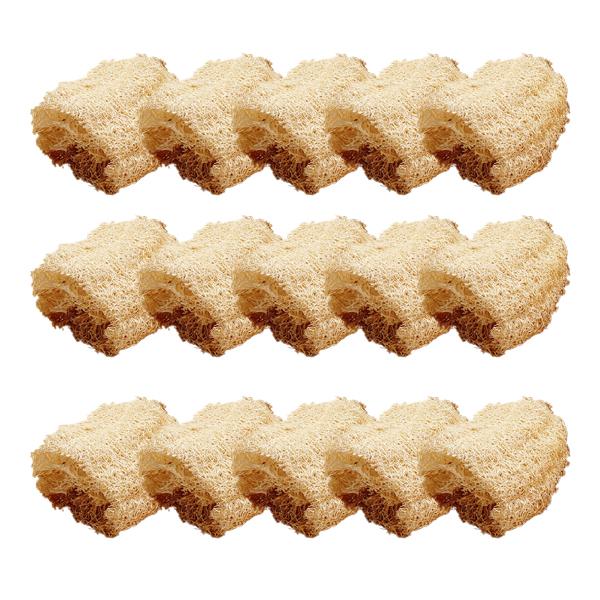 베스트유 다용도 천연 바게트 수세미 소, 15개, 1개입