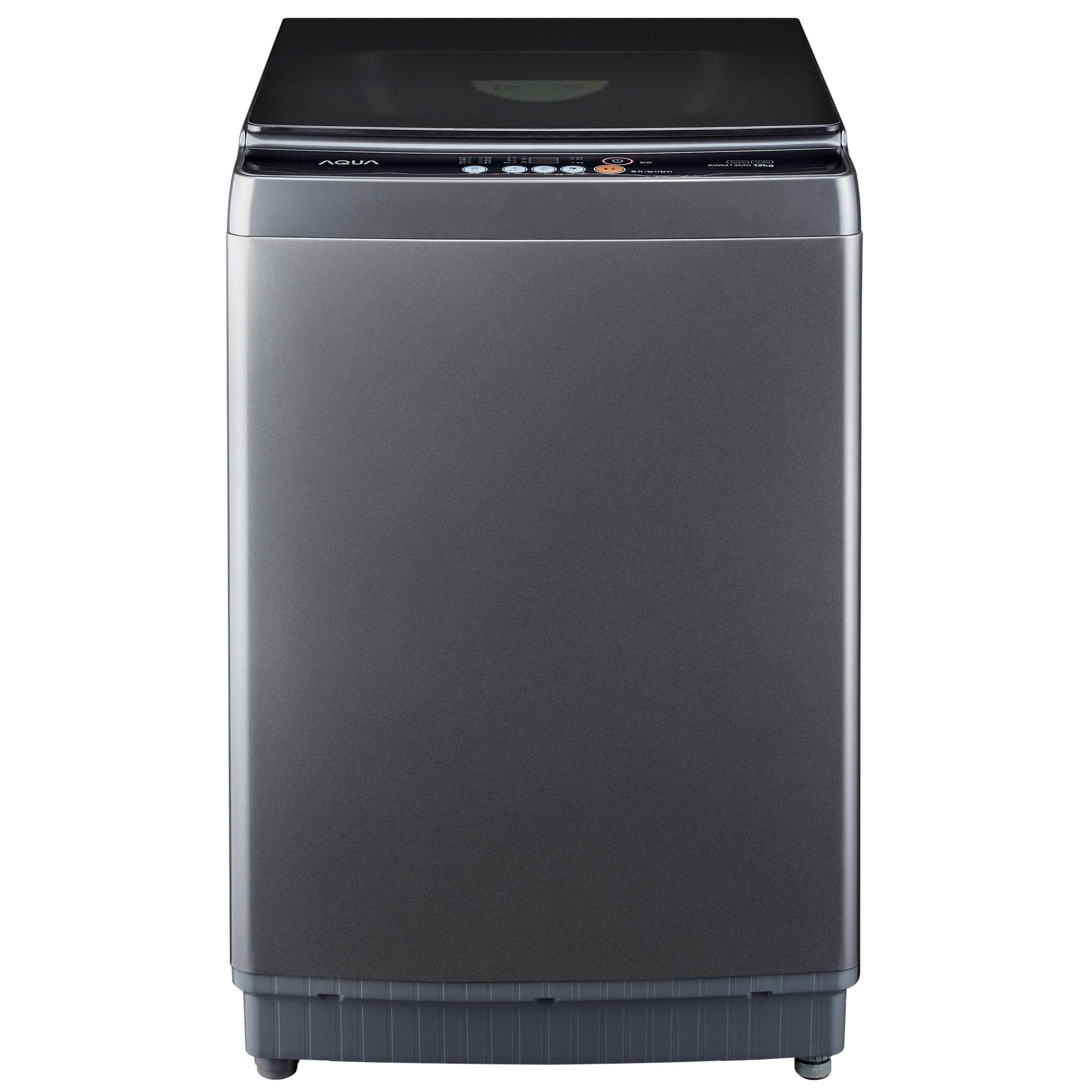 하이얼 아쿠아 일반통돌이 소형 세탁기 10KG 방문설치, AWM10MG(건그레이)-6-4919786621