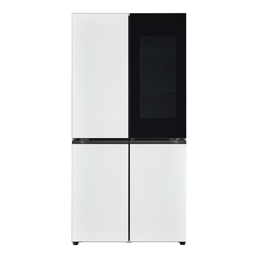 LG전자 오브제컬렉션 매직스페이스 상냉장하냉동 냉장고 M870MWW452S 870L 방문설치