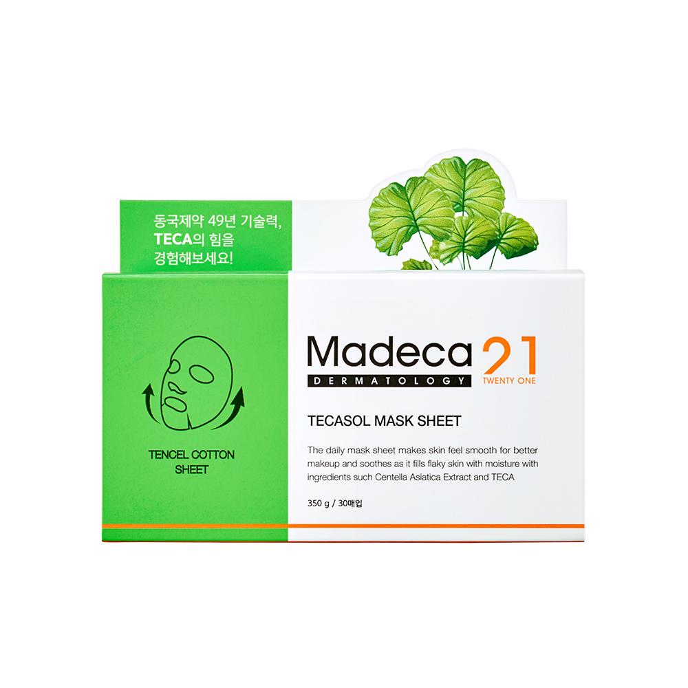 마데카21 테카솔 마스크 시트, 30매입, 1개