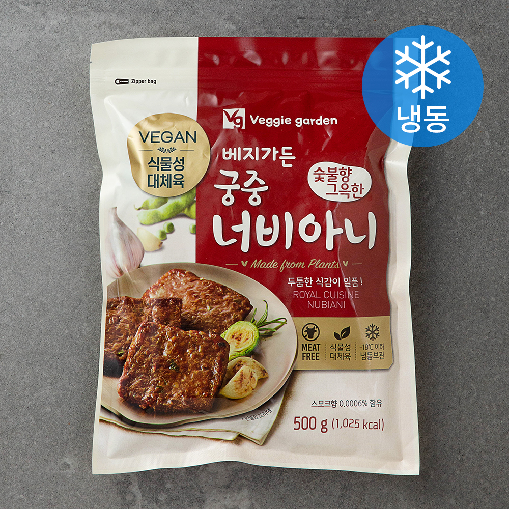 베지가든 숯불향 그윽한 궁중 너비아니 (냉동), 500g, 1개