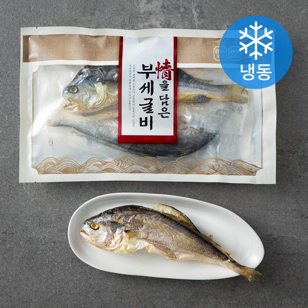 정을 담은 부세 굴비 2미 (냉동), 250g, 1개