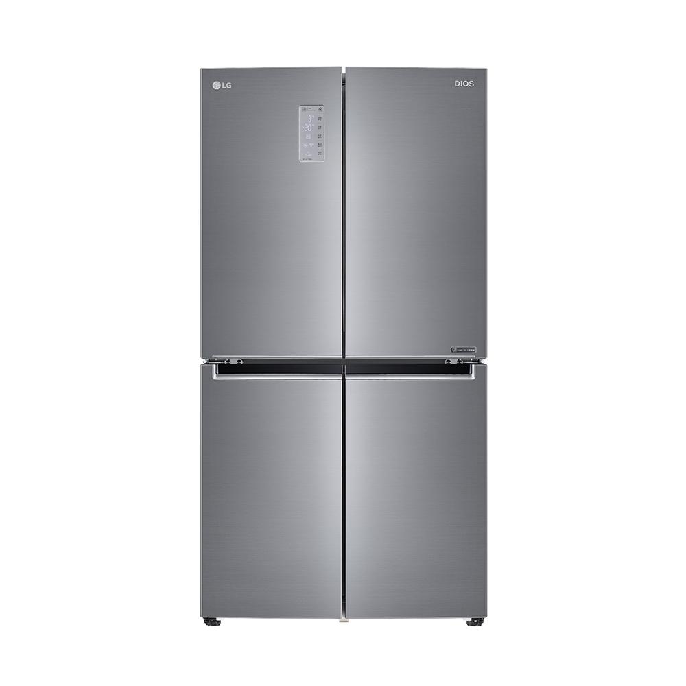 LG전자 디오스 상냉장 하냉동 4도어 냉장고 F872S10 866L 방문설치