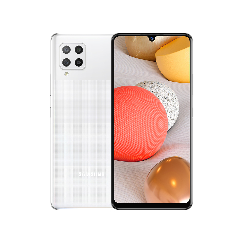 삼성전자 갤럭시 A42 자급제 핸드폰 128GB, SM-A426N, 프리즘 닷 화이트
