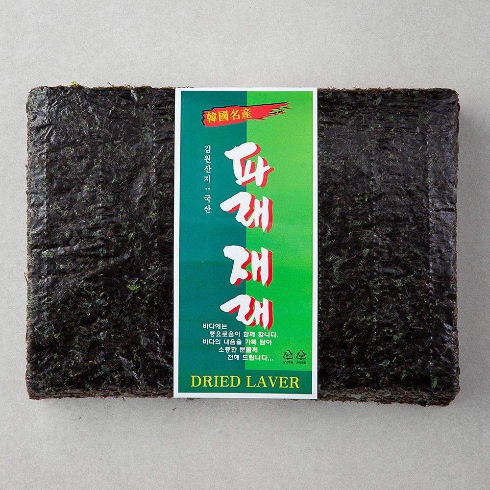 이어수산 파래재래김 100장, 1개