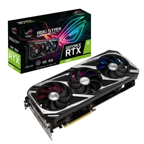에이수스 ROG STRIX 지포스 RTX 3060 O12G GAMING OC D6 12GB 그래픽카드