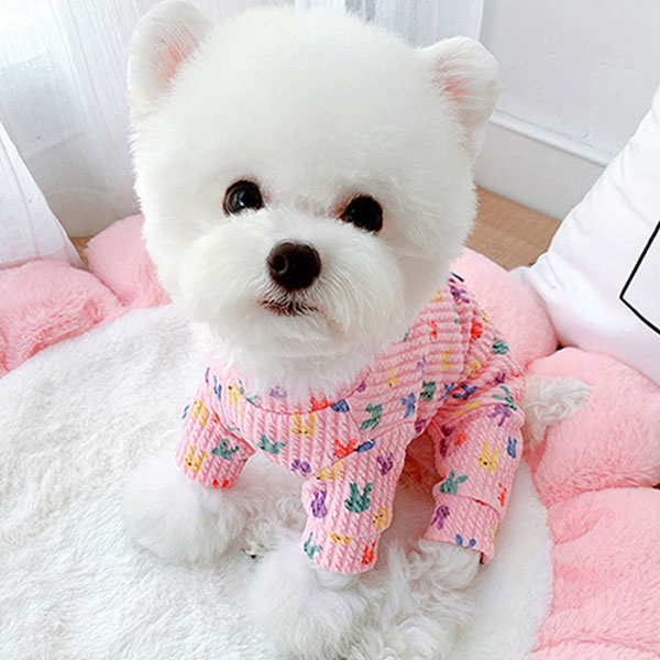BABYDOG 반려동물 알록이올인원 DA019, 핑크