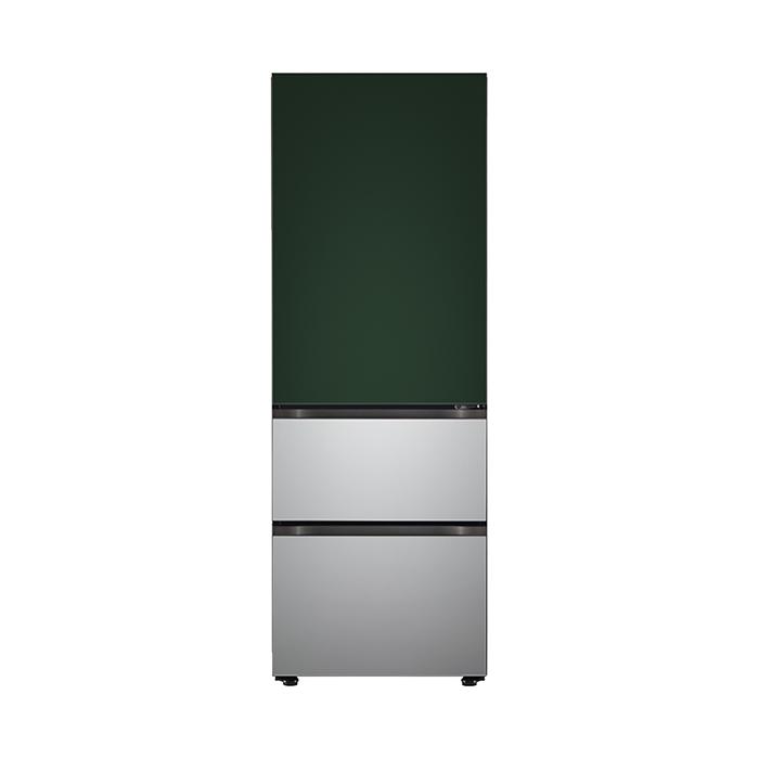 LG전자 오브제 컬렉션 2021년형 김치냉장고 Z330SGS151 323L 방문설치, Z330SGS151(그린실버)