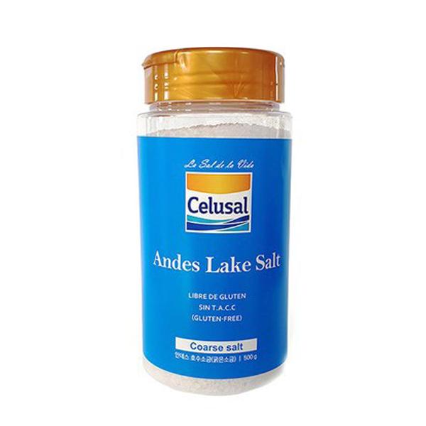 [안데스 소금] 셀루살 안데스 호수 소금, C. .안데스굵은소금500g - 랭킹5위 (4600원)