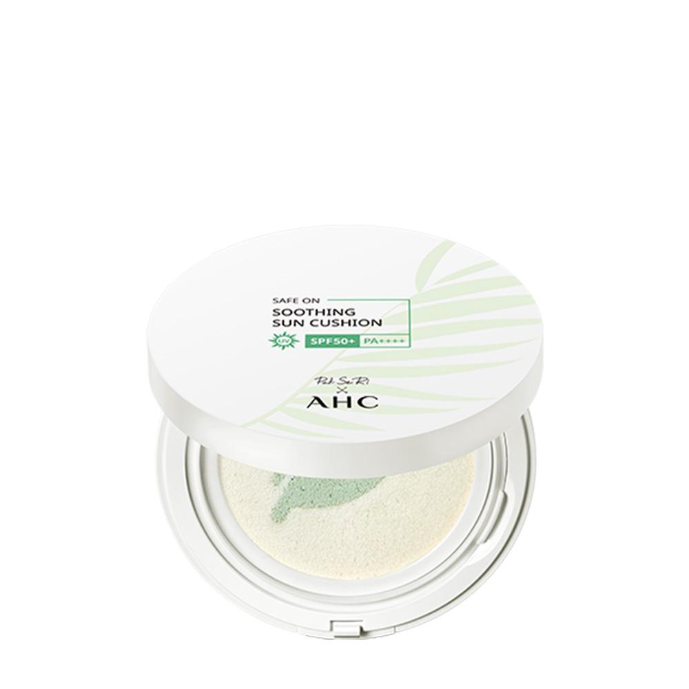AHC 세이프 온 수딩 선 쿠션 SPF50+ PA++++, 25g, 1개