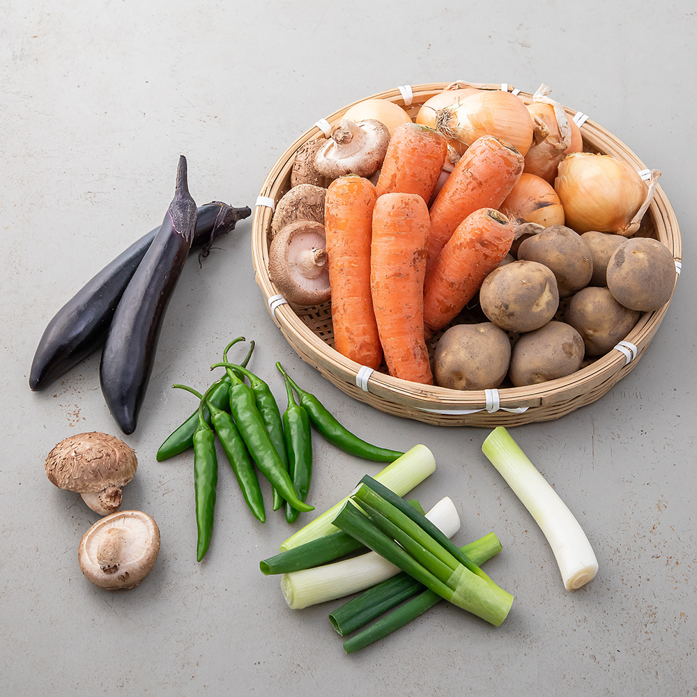 해맑은상상밀양 채소 꾸러미, 4.8kg, 1개