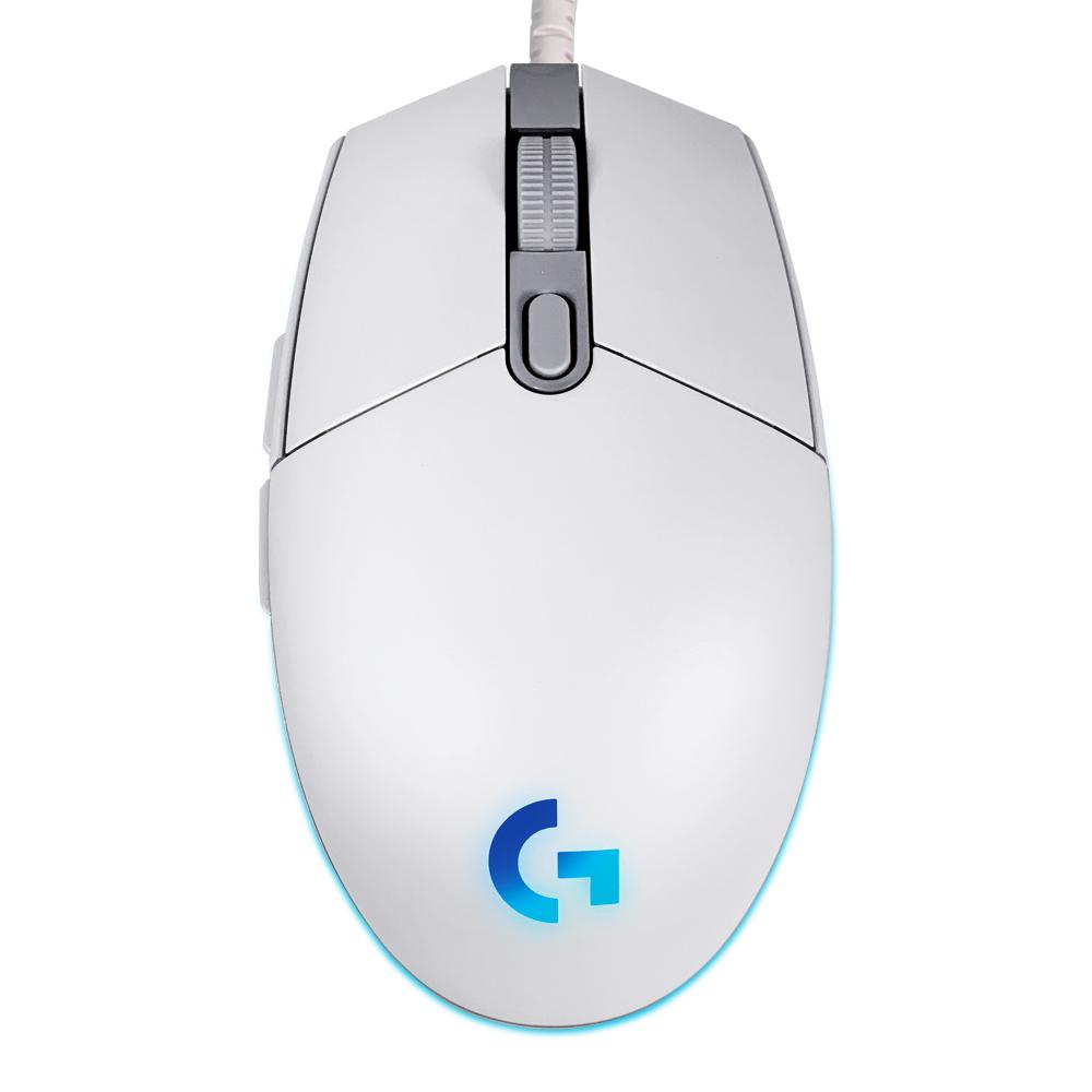 [쿠팡 직수입] [쿠팡 직수입] 로지텍 LIGHTSYNC 게이밍 유선 마우스 2세대 G102, 화이트 - 랭킹79위 (25300원)