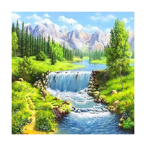피포페인팅 여름테마 시리즈 DIY 풍경화그리기 40 x 50 cm Q3304