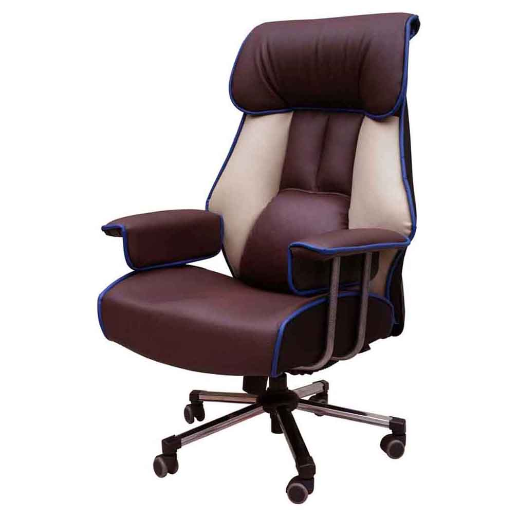 [체어랜드킹] 체어랜드 킹 슈퍼캡3호 일체형 팔걸이 의자, 투톤 - 랭킹9위 (219900원)