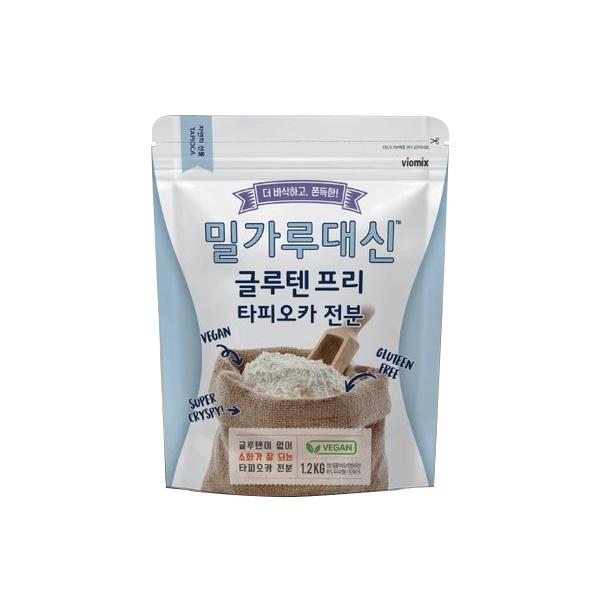 밀가루 대신 글루텐 프리 타피오카 전분  1개  1.2kg아워홈 글루텐프리 쌀짜장면 720g*3ea  3개  720g샘표 쌀