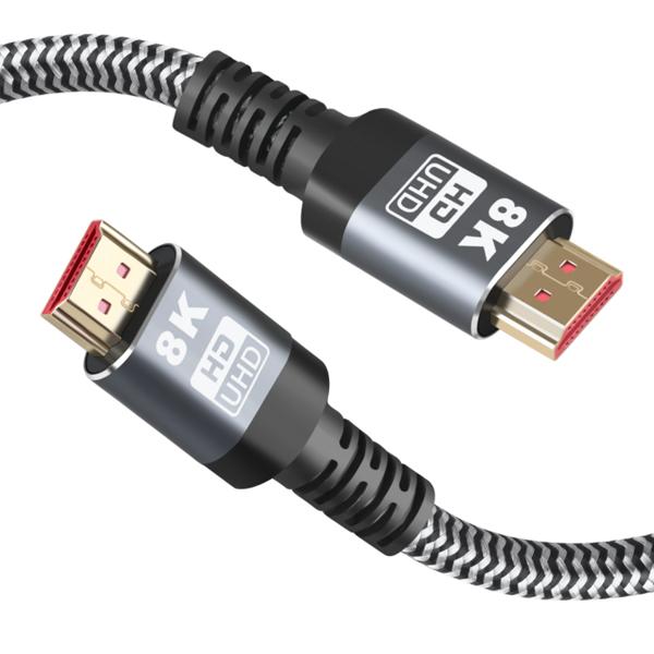 [쿠팡 직수입] [쿠팡 직수입] 만듦 8K UHD HDMI 고속케이블, 1개, 3m - 랭킹76위 (14900원)