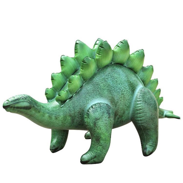 공룡기 스테고사우루스 대형 튜브 공룡 풍선, 그린, 1개