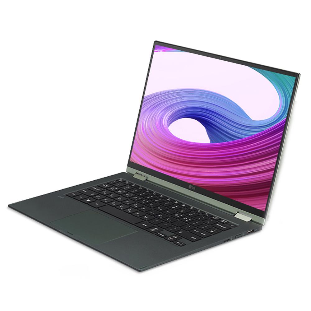 LG전자 2021 그램 360 14, 옵시디안 블랙, 코어i7 11세대, 1280GB, 16GB, WIN10 Home, 14T90P-OA70K