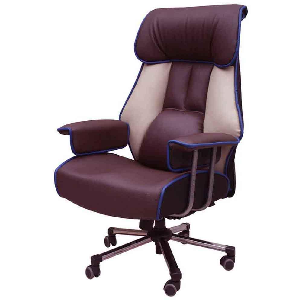 [체어랜드킹] 체어랜드 킹 슈퍼캡 3호 요추 헤더형 의자, 투톤 - 랭킹8위 (219900원)