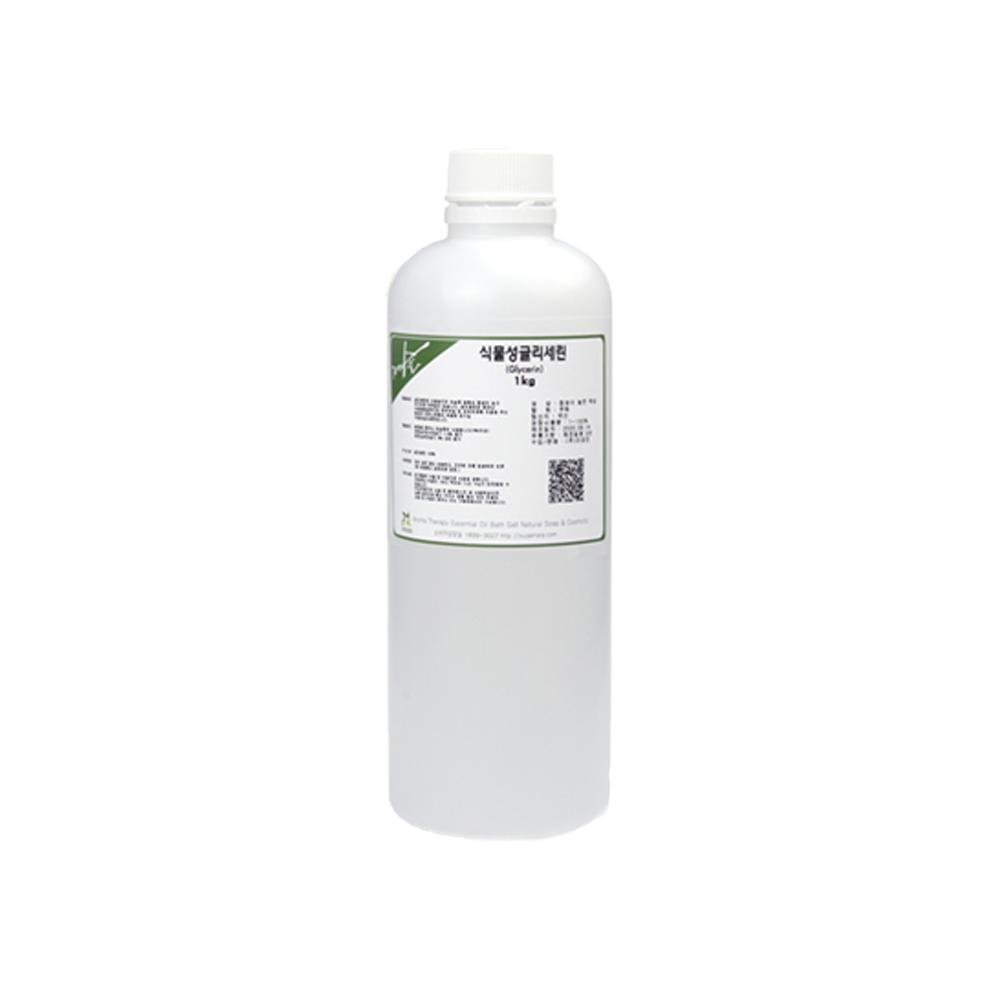 [식물성 글리세린] 식물성 글리세린 1kg, 1개 - 랭킹6위 (4350원)
