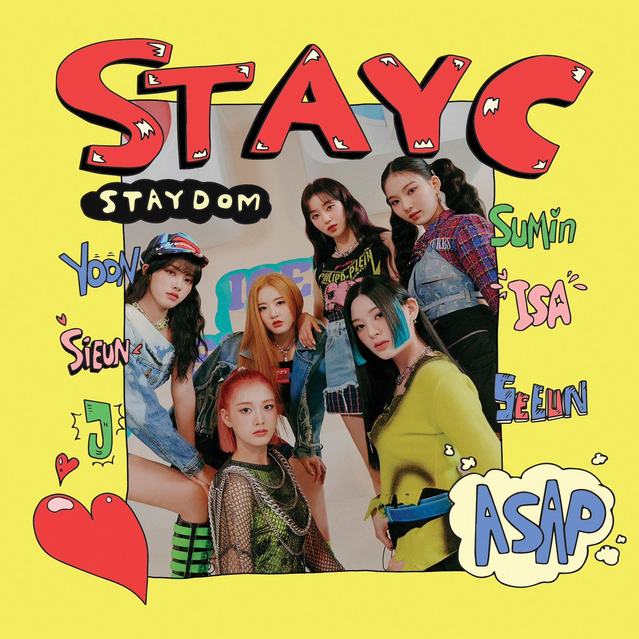 [도서/음반/DVD] 스테이씨 - STAYDOM 싱글2집 앨범, 1CD - 랭킹69위 (12750원)
