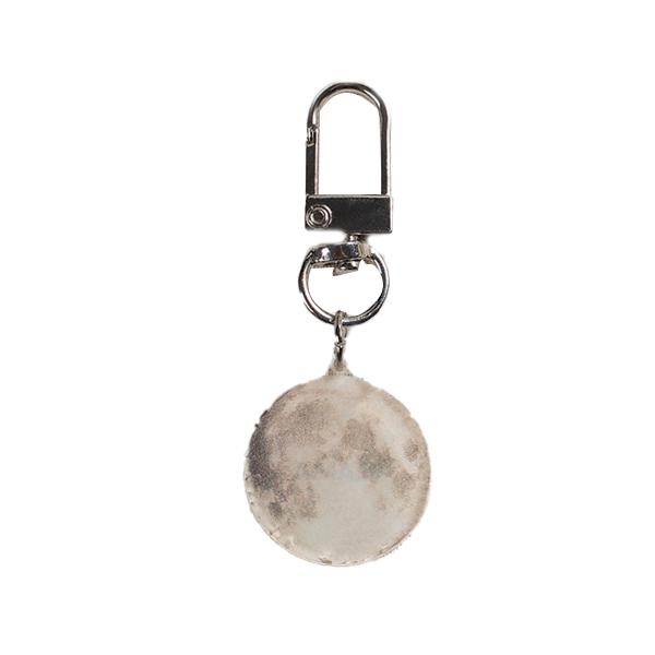 플래나 달과 지구 시리즈 에어팟 아크릴 키링, 달, 1개-23-5314529565
