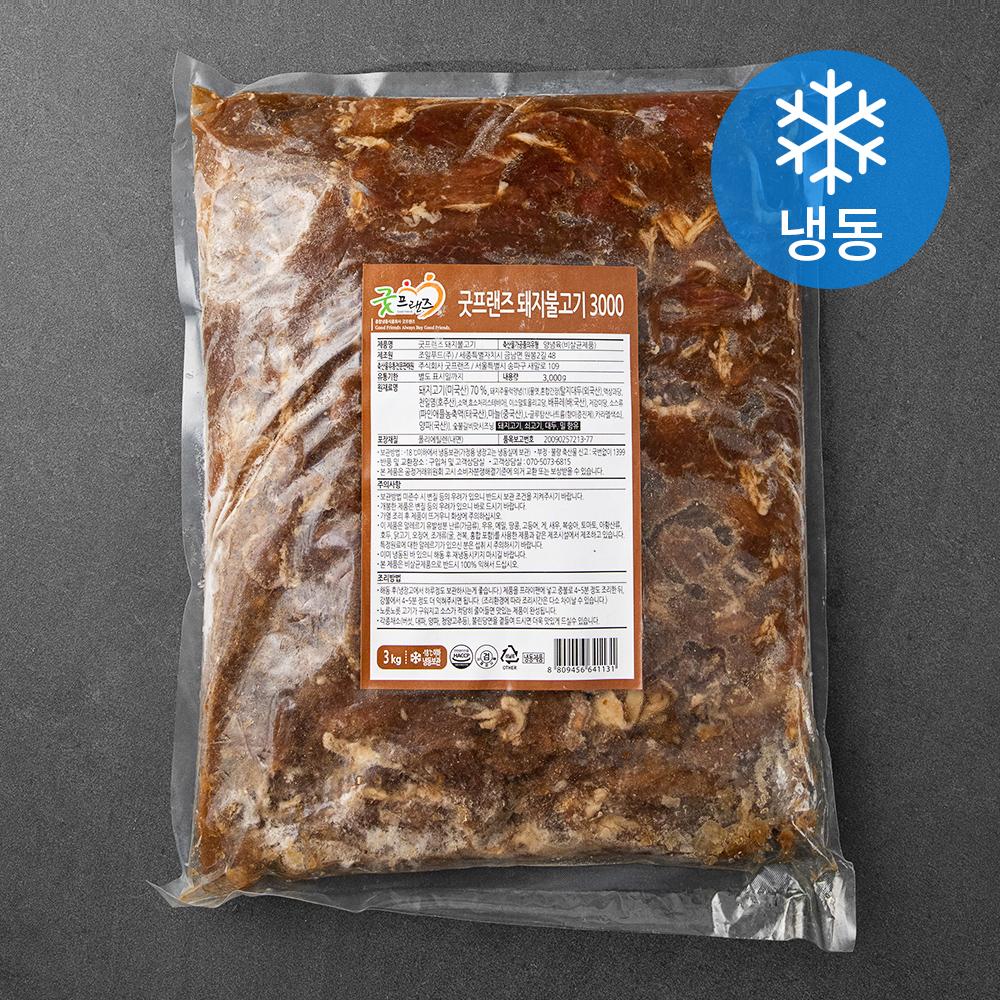 [언양식] 굿프랜즈 돼지불고기 (냉동), 3kg, 1개 - 랭킹8위 (33000원)