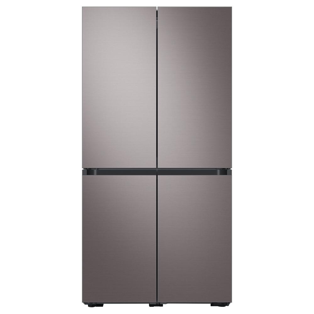 삼성전자 BESPOKE 4도어 프리스탠딩 냉장고 브라우니실버 RF85A9111T1 875L 방문설치-3-5321284283