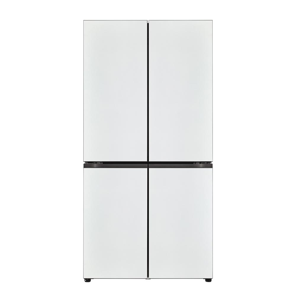 LG전자 오브제컬렉션 상냉장 하냉동 냉장고 M871MWW041S 870L 방문설치 (POP 5341470187)