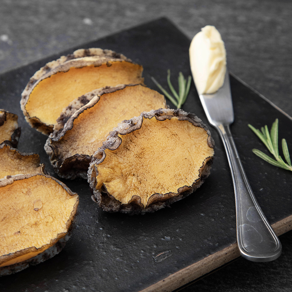 아라보감 버터로 굽는 국산전복, 140g, 1개