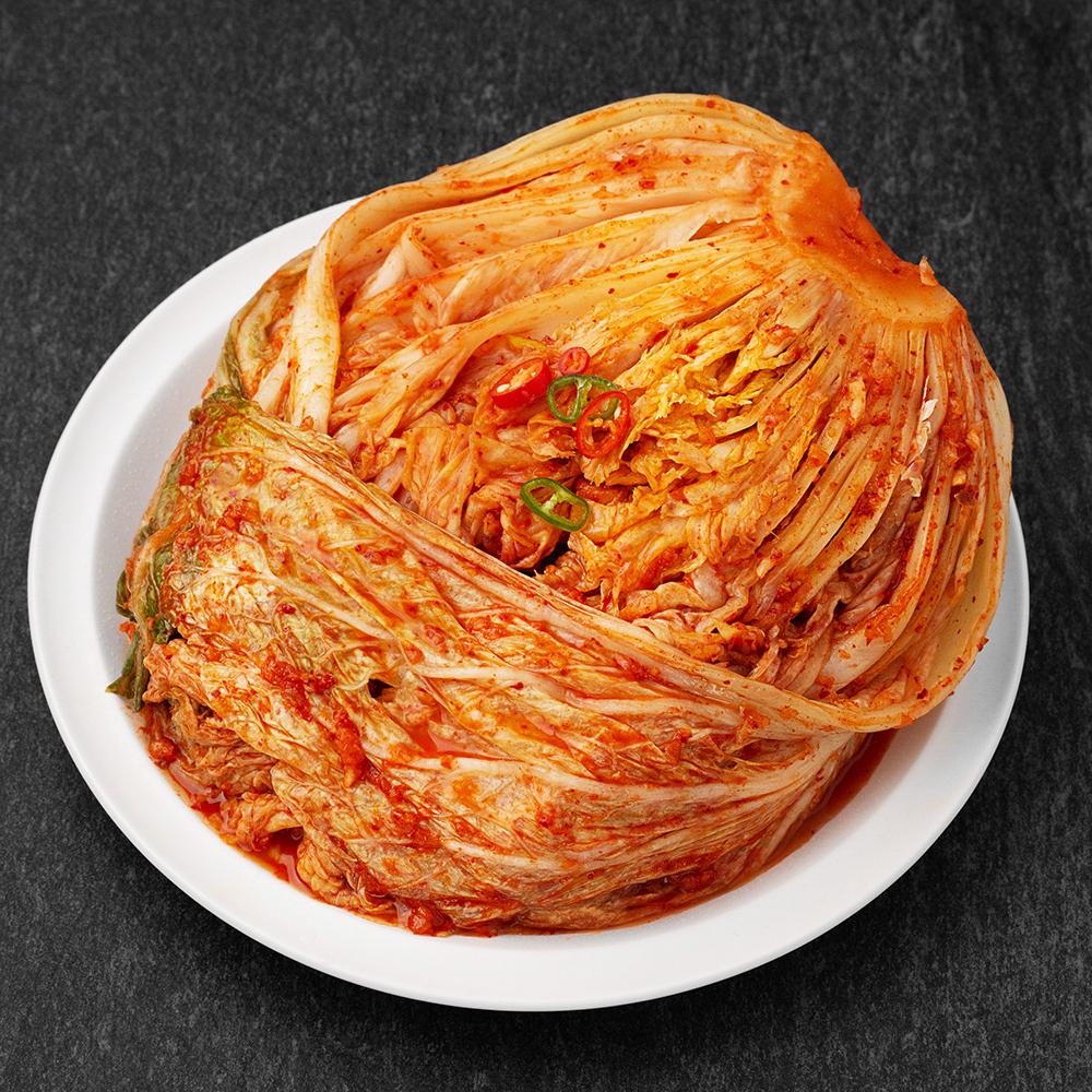 명인유정임 포기김치, 3kg, 1개