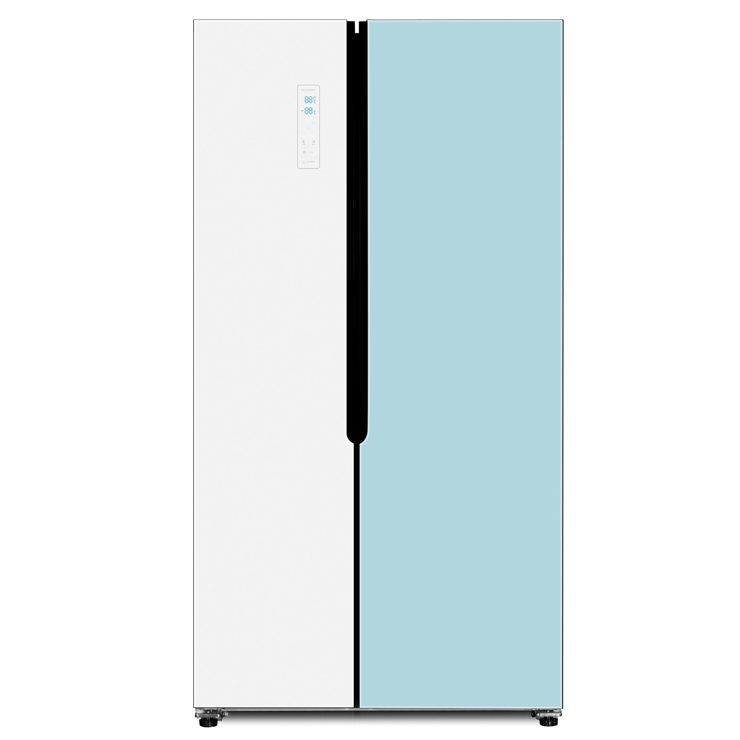 하이얼 양문형 글라스 도어 냉장고 436L 방문설치, HRS472MNMW-3-5421872740