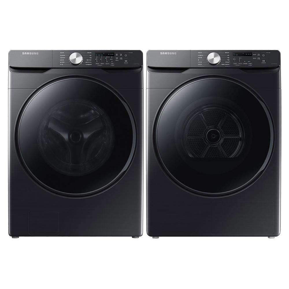 삼성전자 그랑데AI 드럼세탁기 WF21T6000KV 21kg+건조기 DV16T8520BV 16kg 방문설치, WF21T6000KV6, DV16T8520BV (POP 5417146196)
